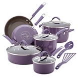 Rachael Ray Cucina 12-pc. Hard-Enamel Nonstick Cookware Set