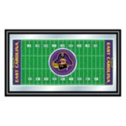 East Carolina Pirates Framed Football Field Wall Art