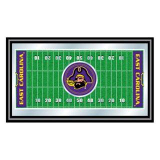 East Carolina Pirates Framed Football Field Wall Art
