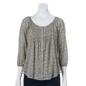 SONOMA Goods for Life? Pintuck Peasant Top Set - Women's