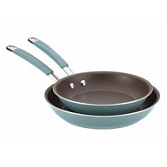 Rachael Ray Cucina 2-pc. Hard-Enamel Nonstick Skillet Set