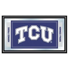 TCU Horned Frogs Framed Logo Wall Art
