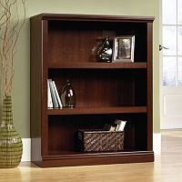 Sauder Contemporary 3-Shelf Bookcase