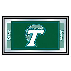 Tulane Green Wave Framed Logo Wall Art