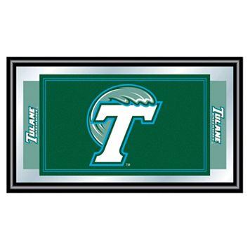 Tulane Green Wave Framed Logo Wall Art