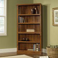 Sauder Contemporary Sleek 5-Shelf Bookcase