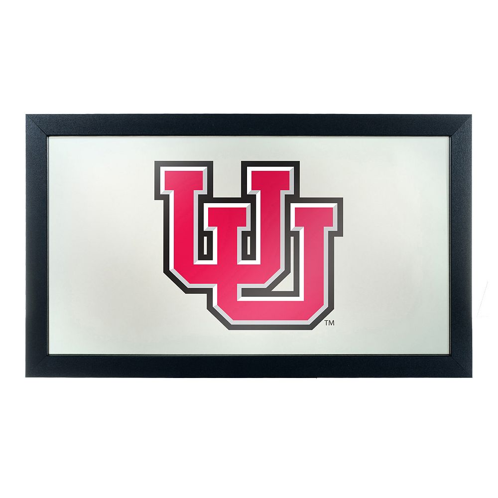 Utah Utes Framed Logo Wall Art