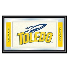 Toledo Rockets Framed Logo Wall Art