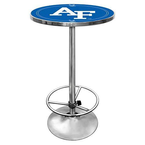 Air Force Falcons Chrome Pub Table