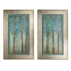 Whispering Wind 2 pc Framed Wall Art Set