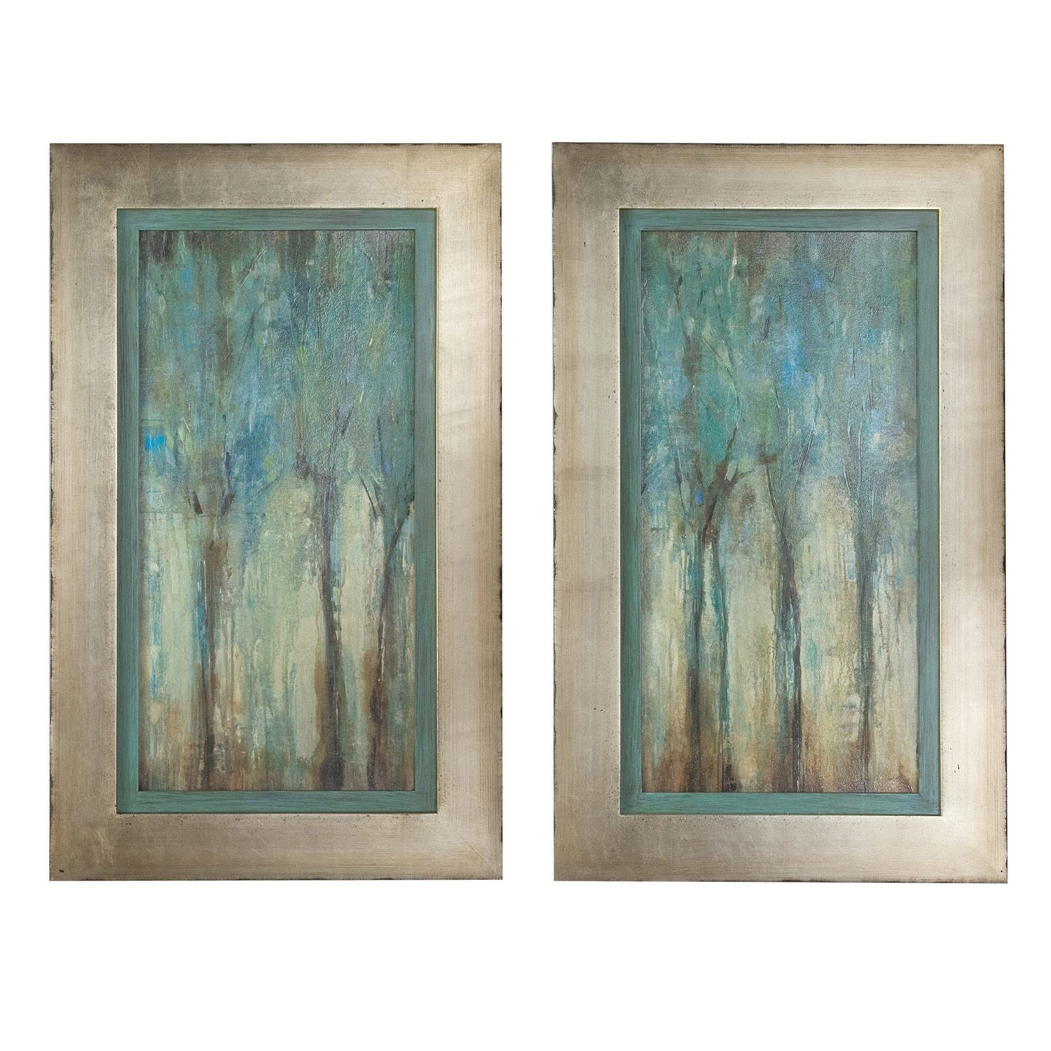 Charmant Whispering Wind 2 Pc Framed Wall Art Set