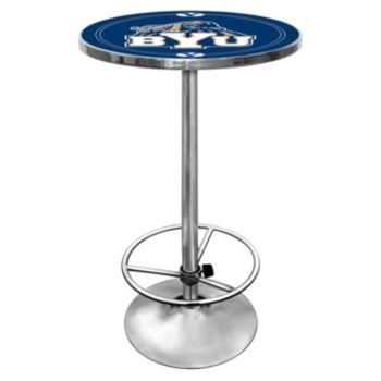 BYU Cougars Chrome Pub Table