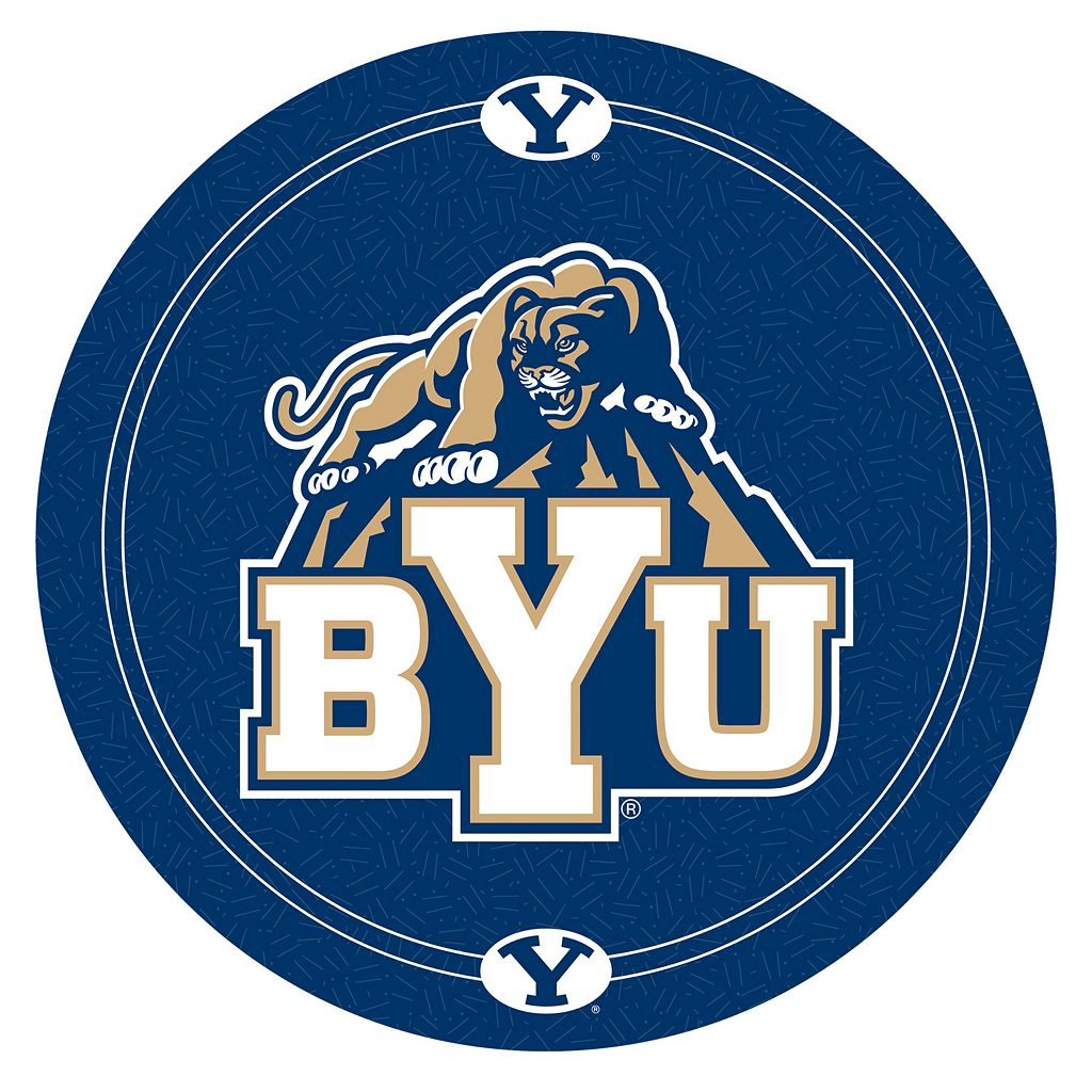 BYU Cougars Chrome Pub Table