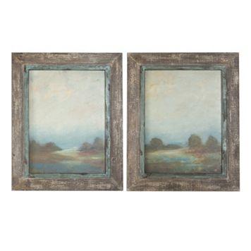 Morning Vistas 2-piece Framed Wall Art Set