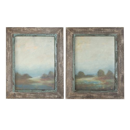 Morning Vistas 2-piece Framed Wall Art Set