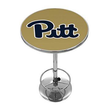 Pitt Panthers Chrome Pub Table