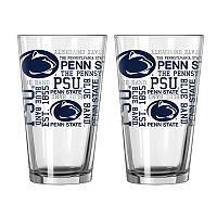 Boelter Penn State Nittany Lions Spirit Pint Glass Set