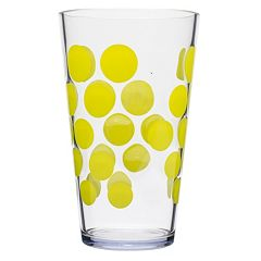 Zak Designs Dot Dot 6 pc Highball Tumbler Set
