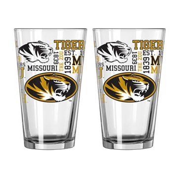 Boelter Missouri Tigers Spirit Pint Glass Set