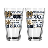 Boelter Notre Dame Fighting Irish Spirit Pint Glass Set