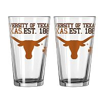 Boelter Texas Longhorns Spirit Pint Glass Set