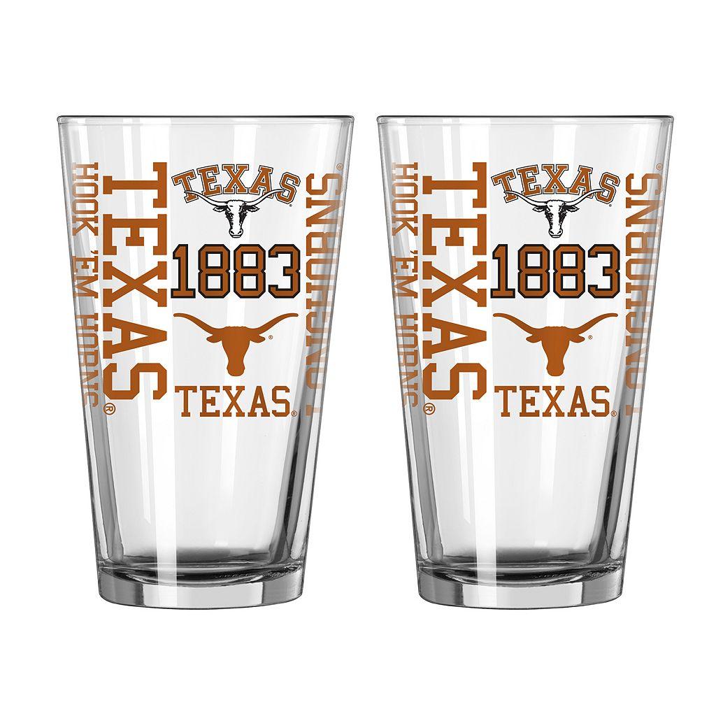 Boelter Texas Longhorns Spirit Pint Glass Set