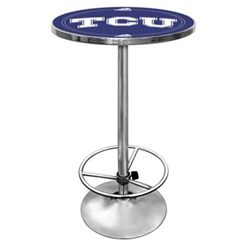 TCU Horned Frogs Chrome Pub Table
