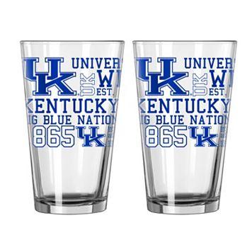 Boelter Kentucky Wildcats Spirit Pint Glass Set
