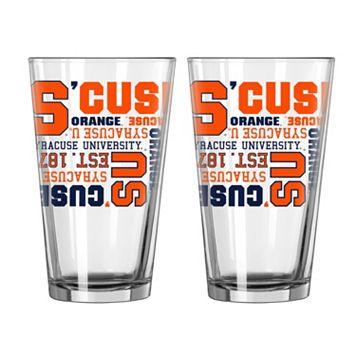 Boelter Syracuse Orange Spirit Pint Glass Set