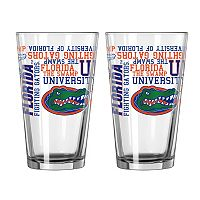 Boelter Florida Gators Spirit Pint Glass Set