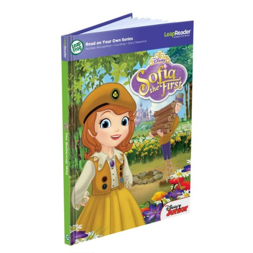 Disney Sofia the First Read On Your Own Book: The Buttercup Way by LeapFrog
