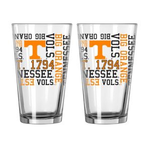 Boelter Tennessee Volunteers Spirit Pint Glass Set