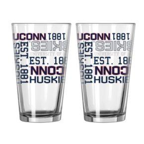 Boelter UConn Huskies Spirit Pint Glass Set