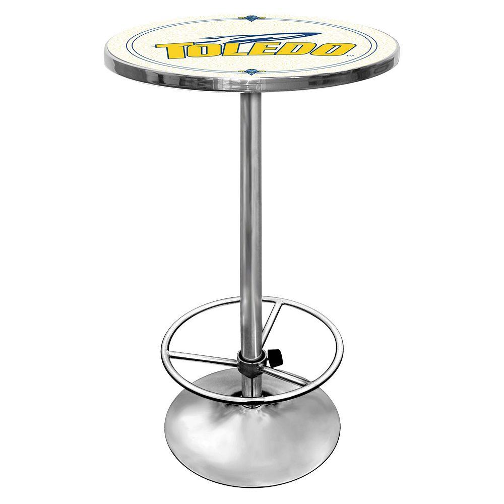 Toledo Rockets Chrome Pub Table
