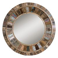 Jeremiah Wood Wall Mirror
