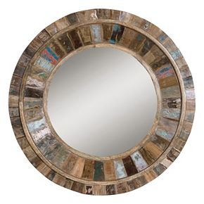 Uttermost Jeremiah Wood Wall Mirror