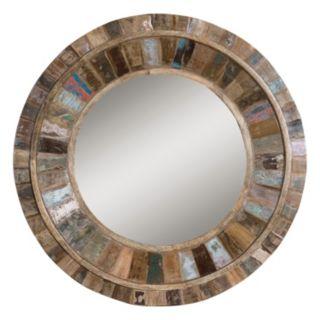 Uttermost Jeremiah Wood Wall Mirror