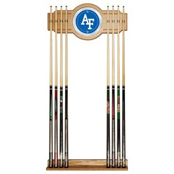 Air Force Falcons Billiard Cue Rack with Mirror