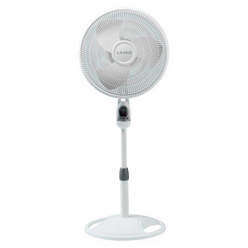 Lasko 16-Inch Remote Control Oscillating Stand Fan