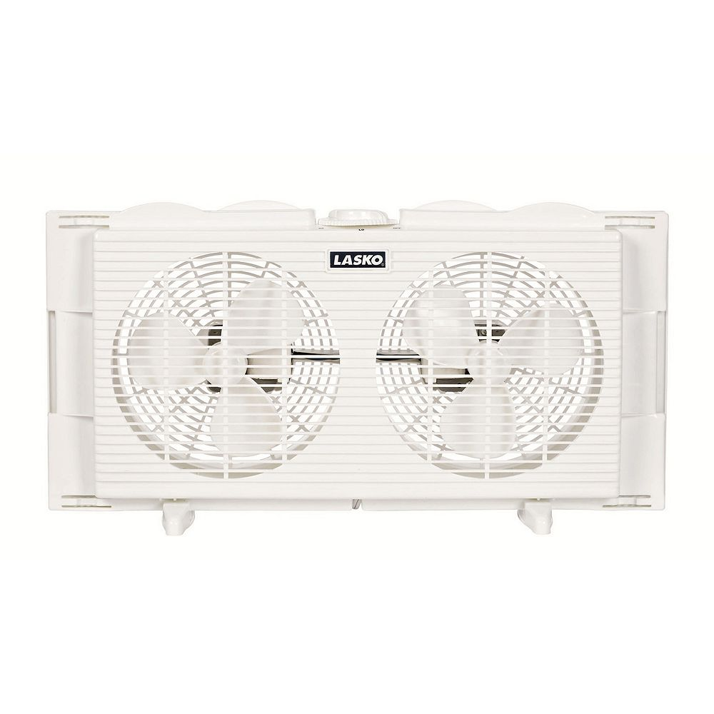 Lasko 7-in. Twin Window Fan