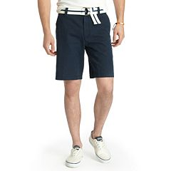 Men's IZOD Saltwater Classic-Fit Solid Flat-Front Shorts