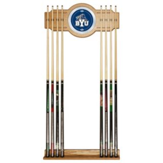 BYU Cougars Billiard Cue Rack with Mirror