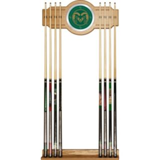 Colorado State Rams Billiard Cue Rack with Mirror
