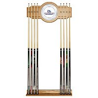 Gonzaga Bulldogs Billiard Cue Rack with Mirror