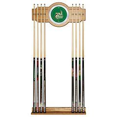 Charlotte 49ers Billiard Cue Rack with Mirror