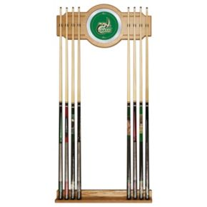 Charlotte 49ers Billiard Cue Rack with Mirror