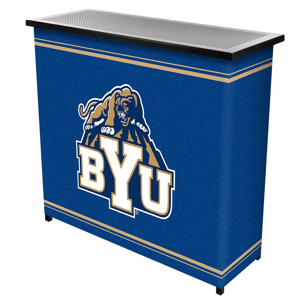 BYU Cougars 2-Shelf Portable Bar with Case