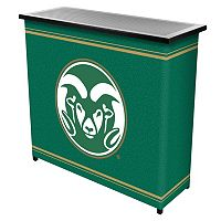 Colorado State Rams 2-Shelf Portable Bar with Case