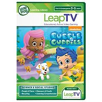 LeapFrog Bubble Guppies Educational Video Game