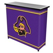 East Carolina Pirates 2-Shelf Portable Bar with Case